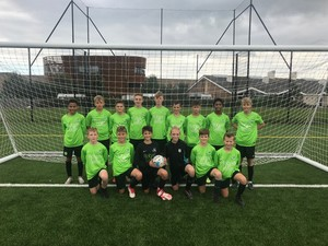 Year 8 football sept