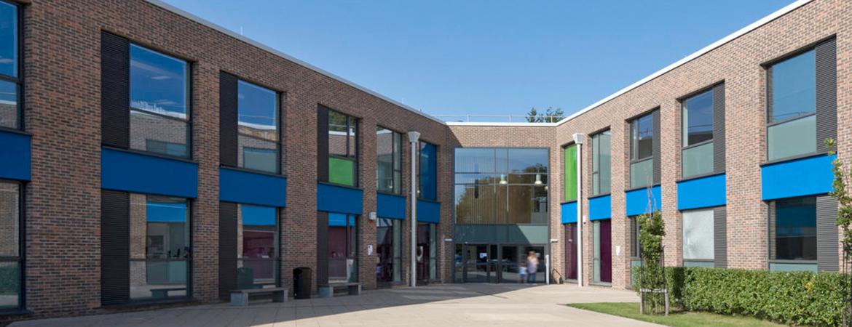 St Augustine Academy Building Header