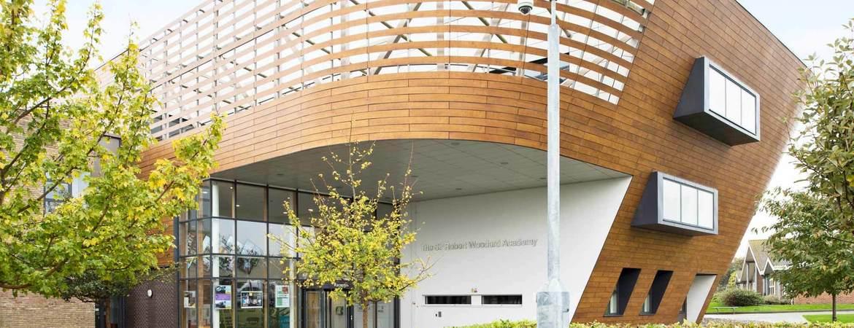 Sir Robert Woodard Academy Building Banner